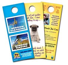Custom Shape Door Hangers