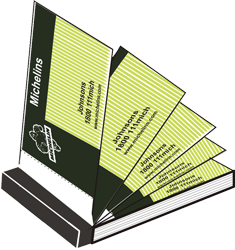 Business Cards booklet Printing