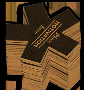 Custom Die Cut Cork Coasters Printing