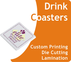 Cheap Drink Coasters Printing