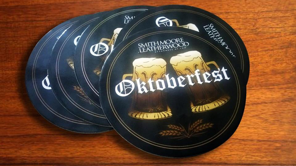 Custom Designing & Printing of Cardboard Coasters