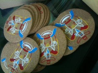 Custom Cork Coasters Printing Company