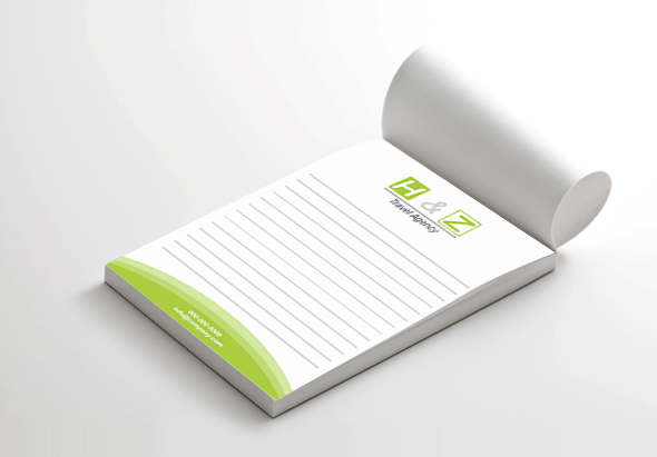 Custom NotePads Printing Company